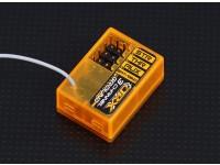 OrangeRx GR300 DSM2 Compatibel 3Ch 2.4Ghz Ground Receiver