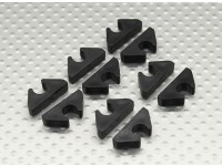 Air Line / Fuel Line / Cable Tidy Clip voor 6mm OD (10pc)
