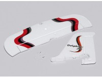 Dolphin Jet EPO 1010mm - Vervanging verticale en horizontale Tail