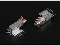 Turnigy Full Metal Servoless 90 graden Retract Set (voor modellen tot 3kg)