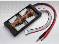 HobbyKing Safe 40A Parallel Charge Board voor 4 Packs 2 ~ 6S (XT60)