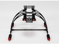 Multifunctionele Care-Gratis Crab FPV Landing Gear Set (Black)