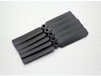 Hobbyking ™ Propeller 4x2.5 Black (CCW) (5 stuks)