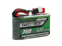 Turnigy nano-tech 750mAh 1S Pack 35-70C Lipo (Walkera V120D02S / QR Infra X / QR W100S)