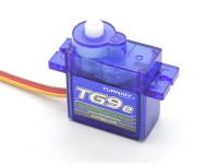 Turnigy ™ TGY-TG9e Eco Micro Servo - Long Version Wire 1,5 kg / 0.10sec / 9g