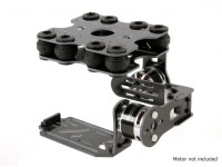 Shock Absorbing 2 Axis borstelloze Gimbal Kit for Action Cam
