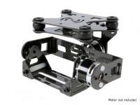 Shock Absorbing 2 Axis borstelloze Gimbal voor DJI Phantom - Carbon Fiber Version