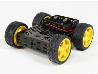 DG012-BV (Basic Version) 4WD Multi Chassis Kit Met Vier RubberWielen