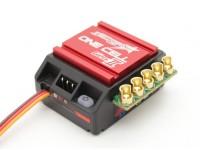 TrackStar Genii One Cell 120A 1 / 12e schaal Sensored Brushless ESC (ROAR / BRCA goedgekeurd)