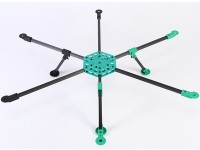 RotorBits HexCopter Kit met modulaire Assembly System (KIT)