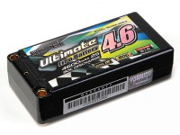 Turnigy nano-tech Ultimate 4600mAh 2S2P 90C Hardcase Lipo Short Pack (ROAR & BRCA Goedgekeurd)