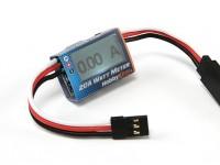 HobbyKing ™ Compact 20A Watt Meter en Servo Macht Analyzer