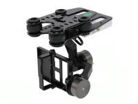 Quanum Q-2D borstelloze GoPro 3 Gimbal (geschikt voor Nova, Phantom, QR X350 en anderen)