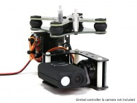 Turnigy ™ Mobius 2 Axis Gimbal met AX2206 Motors W / O Controller