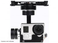 X-CAM A10-3H 3 As 360deg Rotation GoPro Gimbal Met A / V-Link