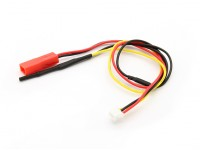 Flight Pack Voltage & Temperature Sensor voor OrangeRx telemetrie systeem.