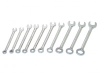 10 Piece Mini Combinatie Wrench Set