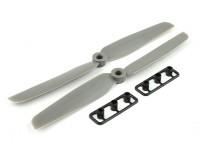 Gemfan Glass Nylon Propeller 6x3 Grey (CW / CCW) (2 stuks)