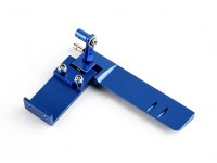 HobbyKing ™ Aluminium Marine Rudder Assembly (blauw)