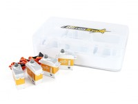 RotorStar RS-2130MGC / RS-3870MGT Servo Combo Pack past bij 450 formaat Helicopters