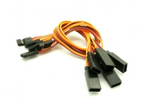 20cm JR 26AWG Straight Extension Lead M tot en met F 5pcs