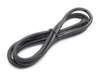Turnigy Hoge kwaliteit 12AWG Silicone Wire 1m (zwart)