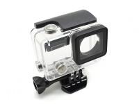 Skelet beschermende behuizing met Lens voor GoPro Hero 3 plus