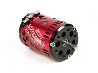 TrackStar 21.5T Stock Spec Sensored borstelloze motor V2 (ROAR goedgekeurd)