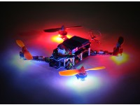 Hermit 145 FPV Drone w / Motors / ESC / Flight Controller / ontvanger (Kit) (Low Latency Version)