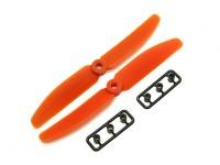Gemfan 5040 GRP / Nylon Schroeven CW / CCW Set (Orange) 5 x 4