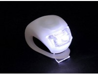 White Silicon Mini-Lamp (wit LED)