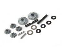 BSR Beserker 1/8 Truggy - Diff. Reparatie Gear Set 813.121