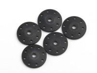 BSR Beserker 1/8 Truggy - Shock Piston 1.5mm Hole (Zwart) (5 stuks) 814151