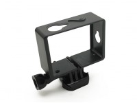 Plastic Montage Frame voor Xiaoyi Action Camera w / Universal Quick-release Mount
