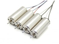 Mini Quad Brushed Motor 8.5x20mm (4 Pack)