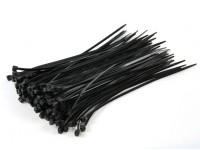 Cable Ties 160mm x 2.5mm Black (100 stuks)