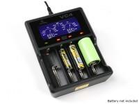 XTAR VC4 oplader voor Ni-MH / Li-ion batterijen (4 Port)