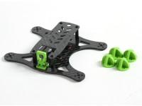 Diatone Lizard 150 v2.0 CF Frame Kit (Groen)