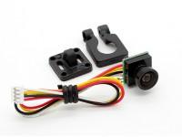 Diatone 600 TV lijnen 120deg Miniature Camera (Zwart)