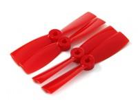 DYS T4045-R 4x4.5 CW / CCW (paar) - 2 paar / pak Red
