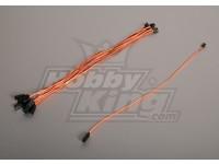 40CM Servo Lead (JR) 32AWG Ultra Light (10st / bag)