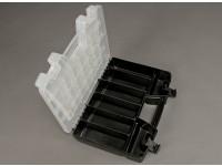 Plastic Multi-purpose Organizer 2 Tray 34 compartiment
