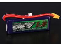 Turnigy nano-tech 1800mAh 2S 25 Pack Lipo ~ 50C