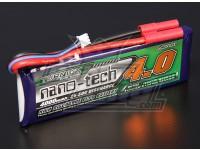 Turnigy nano-tech 4000mAh 2S 25 Pack Lipo ~ 50C