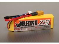 Rhino 2250mAh 3S 11.1v 25C LiPoly Pack