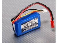 Pack Turnigy 800mAh 2S 20C Lipo (Parkzone Compatibel PKZ1032)