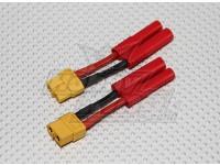 HXT 4mm tot XT-60 Battery Adapter (2 stuks / zak)