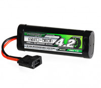 Turnigy nano-tech 4200mah 7.2V 6P 10C NiMH Battery w/Flat Connector