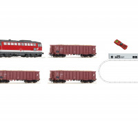 Roco HO Digital Starter Train Set with Class 2043 Diesel Locomotive (OBB), 3 Freight Wagons and Z21  Digital System
