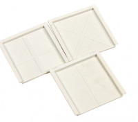 Micro Engineering HO Scale Warehouse Baggage Doors 3pcs (80-065)
